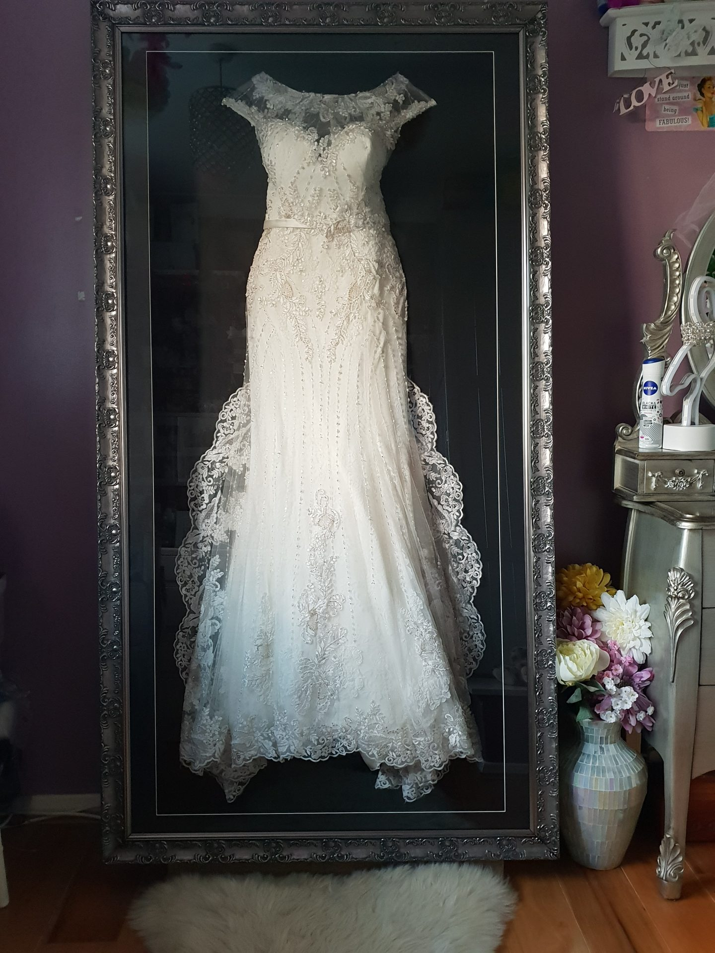 The Beautiful Frame Company Wedding Dress Framers