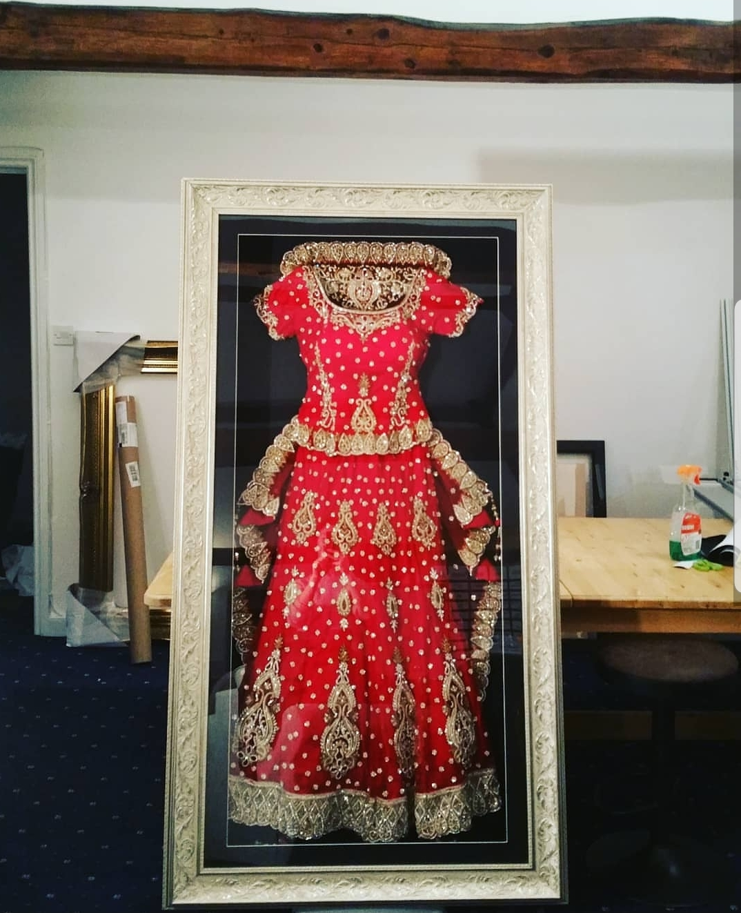 Preserving Your Wedding Dress: The Beautiful Frame Company